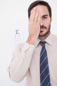 direito visão monocular