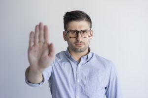empresa não admite retorno